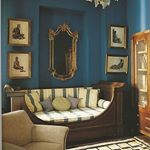 The right antique daybed makes a guest room unforgettable. #antiquedaybed #interiordesign #highboystyle