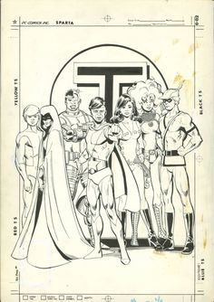 New Teen Titans Drug Issue Back Cover Comic Art
