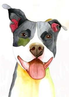 pit bull by isabelle