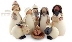 Presépio Figuras Soltas Pequeno Reis - Olária Isabel Lacerda - Portugal