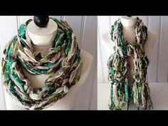 Arm Knitted Scarf Starbella Luxe & Starry Night - Right Handed - YouTube