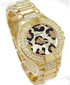 cheetah print watch