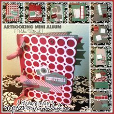 {Video Tutorial} CTMH Artbooking Cricut Mini Album using Sparkle & Shine