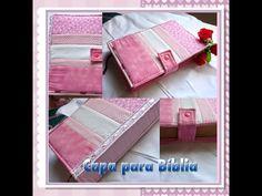 Nesse vídeo ensino como fazer uma capa para Bíblia ou agenda de maneira super simples. tecidos : www.pontoxtecidos.com.br cupom de desconto: dinhaatelie