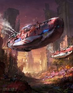The epic scale of the illustrator Hong il An