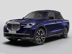 BMW Pick-up Concept 2019 - Construit par des étudiants BMW Bmw X7, Pick Up, Bmw Engines, Bmw Concept, Suv Models, Bmw Series, New Bmw, Automotive Design, Automotive Furniture