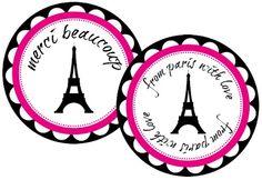 Fiesta Parisina: imprimibles gratuitos.