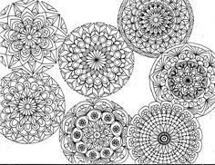 7 Little Mandalas  ║ Tiffany Lovering