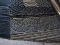Threads on the floor: Designs on denim