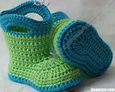 Crochet Shoes - baby shower gift idea