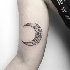•Moon Mandala Tattoo• by Ynnopya