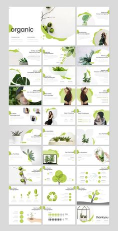 **Organic - Presentation Template** is a Minimalist, Creative, Unique presentation template for commercial enterprise or personal use, creative industry, business and many more. Portfolio Design Layouts, Page Layout Design, Web Design, Website Design Layout, Slide Design, Graphic Design, Business Presentation Templates, Presentation Design Template, Presentation Layout