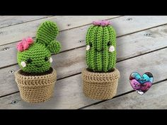 I present you these beautiful Cactus Kawaii amigurumi, crochet. Free tutorial presented by Lidia Crochet Tricot. Share these 12 Crochet Cactus Tutorial - Creative Ideas with others also so that they may also create some of the amazing masterpieces for the Crochet Diy, Cactus En Crochet, Crochet Cactus Free Pattern, Crochet Kawaii, Crochet Patterns Amigurumi, Amigurumi Doll, Crochet Crafts, Crochet Dolls, Crochet Flowers