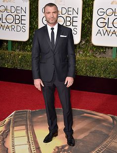 Liev Schreiber attends the 73rd Annual Golden Globe Awards held at the Beverly Hilton Hotel on (January 10, 2016) in Beverly Hills, California.