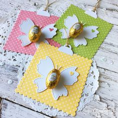 Spring Projects, Easter Projects, Easter Crafts, Cute Crafts, Diy And Crafts, Crafts For Kids, Homemade Gift Boxes, Return Gifts For Kids, Diy Ostern