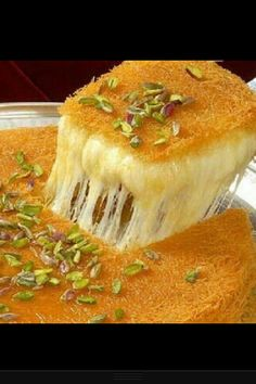 Kinafa(arabic sweet).