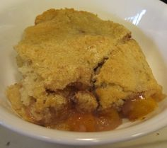Dessert is always a good thing. This dessert is make from a simple combination of ingredients that go together quickly to create a sweet and delicious cobbler with minimum stress for the cook. Nectarine Cobbler, Nectarine Recipes, Food Words, Dessert Recipes, Cafe Recipes, Cafe Food, Pantry, Sweet Treats, Easy Meals
