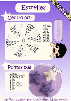 Amigurumi Mini Star - FREE Crochet Pattern / Tutorial