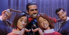 'The Walking Dead' To Get The 'Robot Chicken' Treatment In October
