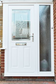 Coloured UPVC Front Door | Home Life | Pinterest | Front doors ...