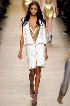 Paco Rabanne Fall 2012 Ready-to-Wear Fashion Show - Jasmine Tookes