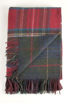 Colour: Heather Stewart and Hunting Stewart. For the highlands and the moors.