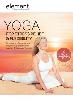 Best Yoga DVD ever! Ashley Turner Element Yoga for Stress Relief and Flexibility. Stress Yoga, Yoga For Stress Relief, Stress Free, Relaxation Response, Workout Dvds, Workout Videos, Workout Tanks, Workout Gear, Yoga For Flexibility
