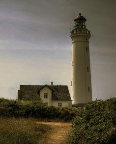 Hirtshals Lighthouse, Denmark