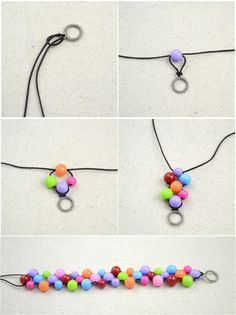 Handmade beaded bracelets out of affordable jewelry making materials – Pandahall