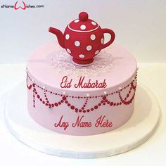 Write name on Eid Mubarak Wish Cake with Name Edit with Name And Wishes Images and create free Online And Wishes Images with name online. - Happy Eid Mubarak Wishes  IMAGES, GIF, ANIMATED GIF, WALLPAPER, STICKER FOR WHATSAPP & FACEBOOK