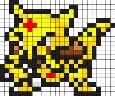 Kadabra Pokemon Bead Pattern Kandi Pattern