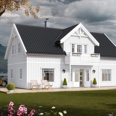 Norgeshus | Rognheim Mansions, House Styles, Home Decor, Decoration Home, Manor Houses, Room Decor, Villas, Mansion, Home Interior Design