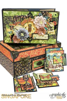 Nature Sketchbook Box&Notebook&ATC, Tutorial by Alexandra Morein, Product by Graphic 45, Photo 16