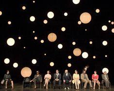 """Stars and/or Moons?Als aktuelle Inszenierung bespricht Gunnar Decker den """"Kirschgarten"""" am Thalia Theater Hamburg in der Regie von Luk Perceval (Bühne Katrin Brack)."""