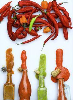 Chili pepper hot sauce