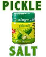 Dill Pickle Flavor Salt - interesting...