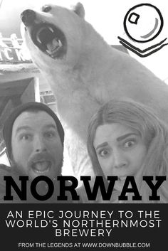 Come with us on an epic journey by plane, train and cruise through Norway to the world's northernmost brewery. If you make it there then you too can get this selfie in the pub next door to the brewery! via @downbubbletravels