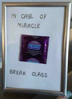 In case of miracle
