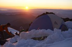 High Camp in the Stargazer Tent | #LiveYourAdventure