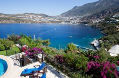 Villa Kelebek Mavi Kalkan Sleeps up to 4 Luxury Villa, Sleep, River, Adventure, Mountains, Outdoor Decor, Luxury Condo, Fairytail, Adventure Nursery
