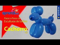 aprenda a fazer esculturas com balões