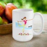 """Go-Girl"" Coffee Mug  #coffee #mug #personalized #gifts #giftforgirls #fitness"