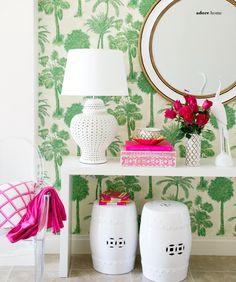 Featured in Adore Magazine. Hallway in Lisa Marinovich's Home