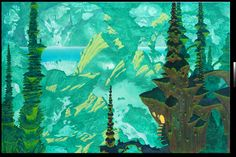 Roger Dean - Journey to the centre of the earth