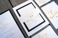 Wedding Invitations - Garden No. Simple typographic design, pops of colour, Belly-band detail. Garden Wedding Invitations, Wedding Invitation Templates, Wedding Stationery, Color Pop, Colour, Our Wedding, Wedding Ideas, Paper Store, Typographic Design
