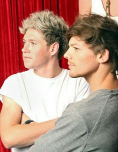 Niall Horan and Louis Tomlinson :)