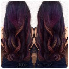 Tropical Sunset Balayage - Low Maintenance Hair Color Ideas For Lazy Girls - Photos