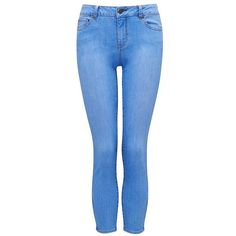 Forever New Hannah Zip Crop Leg Skinny Jeans ($40) ❤ liked on Polyvore featuring jeans, pants, bottoms, jeans / pants / leggings, pantalones, slim fit jeans, zipper jeans, slim fit blue jeans, skinny jeans and vintage jeans