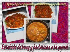 La cocina de Maetiare: Estofado de buey y hortalizas a la guindi