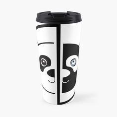 Panda Head, Travel Mug, Color Change, The Unit, Art Prints, Mugs, Printed, Awesome, Tableware